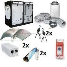 HOMEbox® Evolution R240. HPS 1200w Adjust-A-Wing Gardening