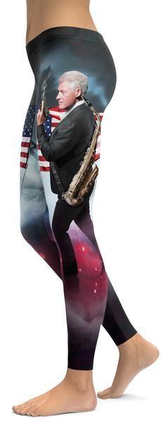 American Pride Clinton Leggings - GearBunch Leggings / Yoga Pants