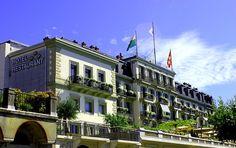 Hôtel des Trois-Couronnes; Vevey