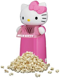 Hello Kitty Hot Air Popcorn Maker - Hello Kitty Tech Gadgets Make Great Gifts For Tween Girls. I'm a Tween! Hello Kitty Kitchen, Hello Kitty House, Hello Kitty Items, Sanrio Hello Kitty, Hello Kitty Stuff, Little Girl Toys, Toys For Girls, Food Kawaii, Air Popcorn Maker