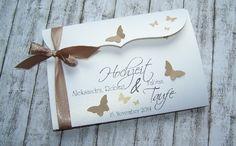 Einladung Zur Hochzeit Und Taufe Bogenkarte Nougat Gross  Www.kartenmanufaktur Arndt.de | Einladung Zur Hochzeit / Taufe | Pinterest