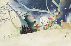 CLASSIC STORY-INDIGO   Eunsil Chun illustration COPYRIGHT©BY CHUN EUNSIL ALL RIGHTS RESERVED