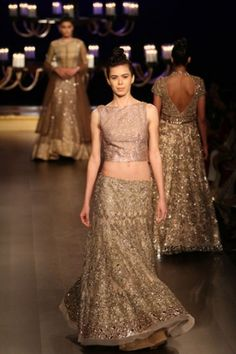 Manish Malhotra. ICW 14'. Indian Couture.