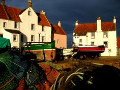 An evening driving down the east coast of Scotland - Pittenweem