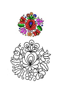 Hungarian Embroidery, Folk Embroidery, Learn Embroidery, Floral Embroidery, Chain Stitch Embroidery, Embroidery Stitches, Embroidery Patterns, Stitch Head, Embroidery Techniques