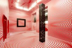 This room is crazy.  Believe that it is an art exhibit in Innsbruck.  Thank goodness.