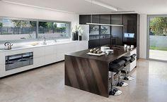 Kitchen Remodel: 101 Stunning Ideas for Your Kitchen Design (Black and white Ultra modern kitchen design)