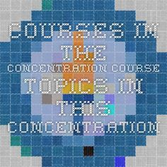 Courses in the Concentration Course topics in this concentration include:  Strategies and Tactical Marketing in a Global Society International Consumer Behavior and Culture Marketing Research and Data Analytics  International Integrated Marketing Communications