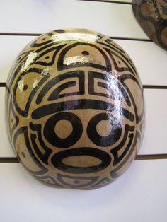 Taino Indian Mask  Caribbean Puerto Rico by TheFlamboyanTree, $65.00