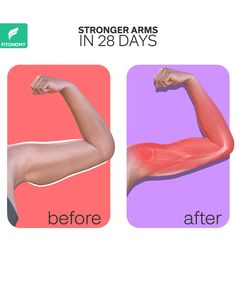 After reducing arm fat, the goal is to built stronger and toned arm muscles. These exercises will target your completely arm muscles in order to make them stronger and bigger. After reducing arm fat, the goal is to built stronger and toned arm muscles. Fitness Workouts, Gym Workout Videos, Fitness Workout For Women, At Home Workouts, Fitness Tips, Full Body Gym Workout, Belly Fat Workout, Home Exercise Program, Workout Programs
