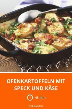Ofenkartoffeln mit Speck und Käse - smarter - Zeit: 45 Min. | eatsmarter.de