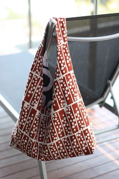 soozs: Reversible beach bag tutorial