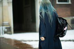 Street Style from Copenhagen Fashion Week Fall 2014 #streetstyle