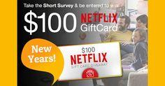 Get a $100 Netflix Gift Card