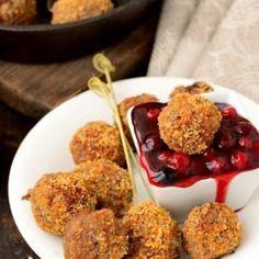 Cranberry Appetizer Meatballs