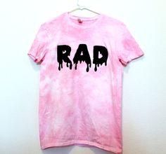 Preorder cloudy pink RAD shirt by wildblacksheep on Etsy