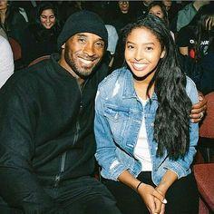 Kobe Bryant And Wife, Kobe Bryant Daughters, Kobe Bryant 8, Kobe Bryant Family, Lakers Kobe Bryant, Natalia Bryant, Vanessa Bryant, Daddy Daughter Photos, Kobe Lebron