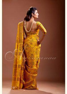 Kancheepuram Silk Saree - Aavaranaa
