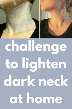 challenge to lighten dark neck at home Today I will share an amazing neck scrub which will exfoliate your neck by removing the dirt darkness and impurities. It will clear the skin and will give you fa Skin Tips, Skin Care Tips, Dark Neck Remedies, Lighten Skin, Challenge, Even Skin Tone, Homemade Skin Care, Acne Skin, Skin Brightening