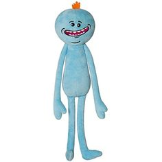 Rick and Morty Happy Meeseeks Plush Stuffed Toy -- Want additional info? Click on the image. (This is an affiliate link) #StuffedAnimalsTeddyBears