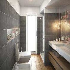 Servizio ospiti: Bagno in stile in stile Moderno di BF Studio