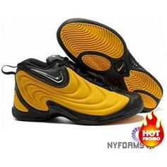hot sales 1afa7 d2fa1 Nike Air Flightposite 1 Yellow Black