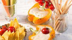 Knoblauch-Käsesauce  vom Grill