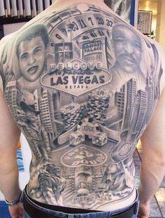 Tattoo Artist - Tomasz Sugar Cukrowski - Vegas and casino tattoo