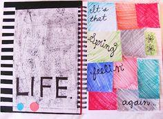 Spring art journal!