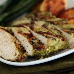 Pesto Marinated Grilled Chicken Recipe - ZipList