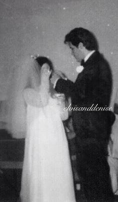 Elvis never left — Wedding day Elvis and Cilla Priscilla Presley Wedding, Elvis And Priscilla, Lisa Marie Presley, Elvis Wedding, Wedding Day, Wedding Gifts, Night Before Wedding, Aladdin, Freddy Rodriguez