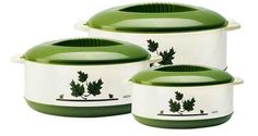 Milton Set of 3 Orchid Casseroles- White price details 2014 | LatestMobiles. Laptops, Computer, Bikes, Cars and All Home Made Things Updated Price Details 2014