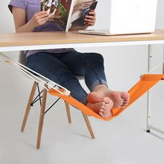 Office hammock Foot Rest Stand