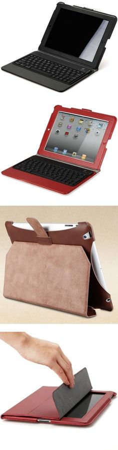 """""""iPad 4 Genuine Leather Case with Keyboard"""" by jennygood88 ❤ liked on Polyvore"""