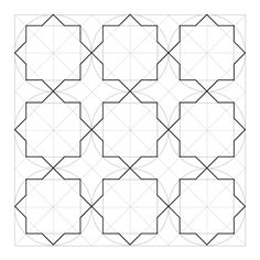 Breath of the Compassionate step 3 - Autocad - Breath of the Compassionate step 3 - Islamic Motifs, Islamic Art Pattern, Pattern Art, Geometric Drawing, Mandala Drawing, Geometric Shapes, Geometric Patterns, Geometric Designs, How To Draw Sacred Geometry