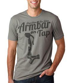 Armbar on Tap Brazilian Jiu Jitsu shirt S 3xl by PneuralDesign, $20.00