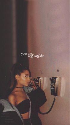 Best Lyrics Quotes, Best Love Lyrics, Cute Song Lyrics, Cute Songs, Music Lyrics, Ariana Grande Lyrics, Ariana Grande Photos, Music Video Song, Music Videos