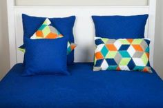 A Loja do Gato Preto | Colcha Côte D'Azur Azul #alojadogatopreto