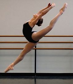 Grand Jete ... someday i'll get the hang of it... :)