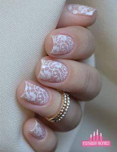 New Pretty Wedding Nail Designs