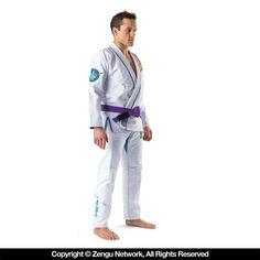 Fighters PEARL WEAVE Bjj GI uniform WHITE BLUE BLACK A00 A4 KIMONO Jujitsu MMA