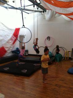 Summer kids camps at Pilates Studio M.