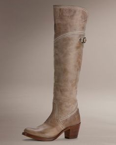 e511d0ef7853 Frye Women s Gaucho Jane Tall Cuff Boot - Taupe Womens Cowgirl Boots