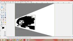 Quinto paso:  Una vez seleccionada la herramienta pinchamos sobre la imagen para realizar el encuadre con la selección, debe ser de forma rectangular para poder encajar la imagen completa.