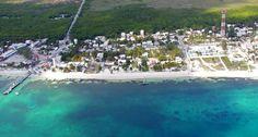 porto morales mexico   map of puerto morelos all accommodations near puerto morelos beaches ...
