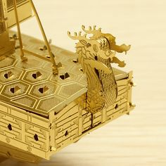 Piececool Geobukseon DIY 3D Laser Cut Models Puzzle