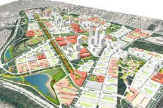 Minsk Forest City A Regeneration of the Minsk-1 Airport – Sasaki Associates, Inc