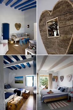 summer house on formentera Deco Marine, Dream Beach Houses, House By The Sea, Mediterranean Decor, Interior Decorating, Interior Design, Beach House Decor, Home Decor, Home Staging