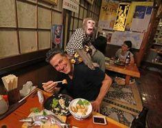 "Monkey Restaurant, The Kayabukiya Tavern is a traditional-style Japanese ""sake-house"" restaurant in Utsunomiya, north of Tokyo, Japan"