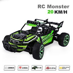 ==> [Free Shipping] Buy Best Highspeed Remote Control Car 1:18 20KM/H Speed RC Drift RC Car Radio Controlled Cars Machine 2.4G 4wd off-road buggy Kids Gift Online with LOWEST Price | 32722726927